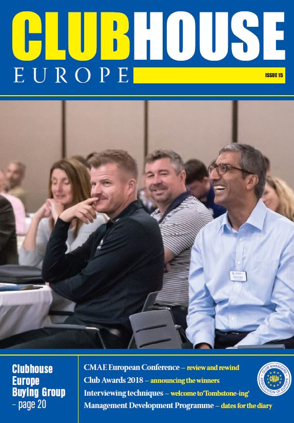Latest issue of Club House Europe