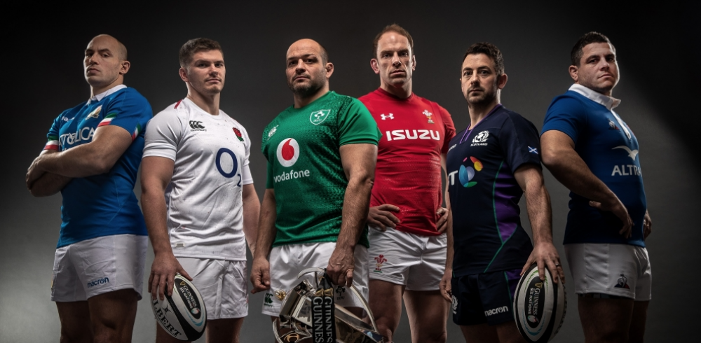 Image for Ding Ding - round three. Guinness Six Nations